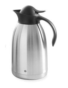 Hendi Thermoskan met Drukknop | RVS | 2 Liter