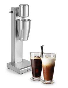 Hendi Milkshaker met RVS beker | 1 Liter | 180W | 170x170x520mm