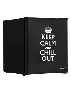 Husky Unieke Mini Koelkast Keep Calm | 42,9 Liter | 40 blikjes