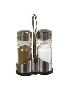 EMGA Menage 2-delig | Peper en Zout | Hoogte 13cm