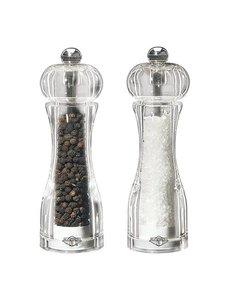 EMGA Peper en zoutmolen acryl 14cm
