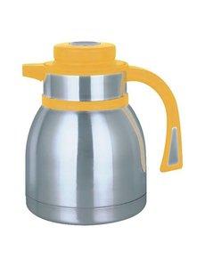 EMGA Isoleerkan met Drukknopsluiting Geel | 1 Liter
