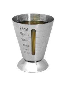 EMGA Barmaatje RVS | 15 ml. tot 75 ml.
