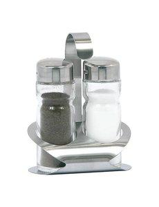 EMGA Menage 2-delig | Peper & Zout | Hoogte 12cm