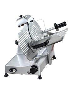 Mach Economic Vleessnijmachine | Mes Ø 250mm. |  185Watt |  35(H)x48x42cm