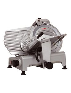 CaterChef Vleessnijmachine | Mes Ø 250 mm. | 180Watt |  37(H)x36,5x50,5cm