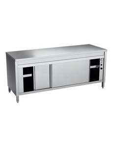 Multinox Bordenwarmkast | 230V/2000W | 140x70x(H)87cm
