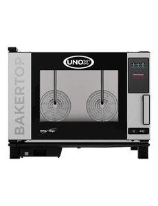 UNOX BakerTop Combisteamer MindOne | 4x 60x40 cm. | 400V/7.4kW |  68(H)x96x86cm