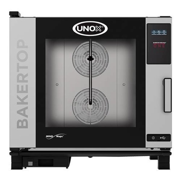 UNOX BakerTop Combisteamer MindOne | 6x60x40 cm. | 400V /9.9kw | 85(H)x96x86cm