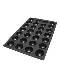 SessantaQuaranta Bakmat Half-Sphere | Bakerynorm | 60x40cm. | Cap. 28 stuks
