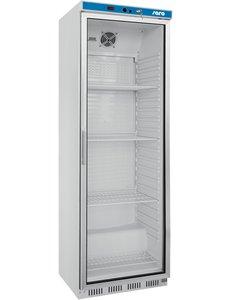 Saro Display koelkast met glazen deur 361 Liter | Model 400 GD | B600 x D585 x H1850 mm.
