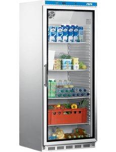 Saro Display koelkast met glazen deur 570 Liter | HK 600 GD | 77x75xH190 cm.
