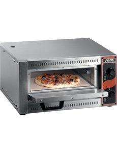 Saro Pizzaoven voor Pizza Ø 33 cm. Tafelmodel | 230V/2.5kW | +50/+300 °C | B530xD430xH290mm.