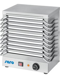 Saro Rechaud met 10 Warmhoudplaten | 230V/1.2kW | Plaat 270x150 mm