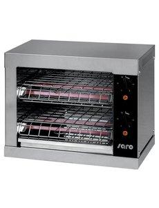 Saro Broodrooster | 230V/3kW | 0/+180 °C | B440xD260xH380 mm