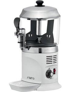 Saro Chocoladedispenser 5 liter | NINA wit | Temp. +30/+90 °C | 1100W