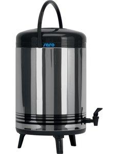 Saro Drank dispenser met kraan 12 Liter | Koud of warm tot ca 6 u
