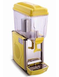 Saro Koude Drank Dispenser Geel   1x 12 Liter   230V/290W   Temp. +3/+8 °C
