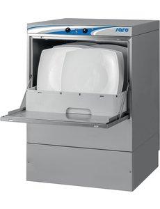 Saro Vaatwasmachine met Wasmiddelpomp, Hydraulische Spoelpomp, Afvoerpomp en Vuilfilter | 230V/3.6kW | Korf 50x50cm.