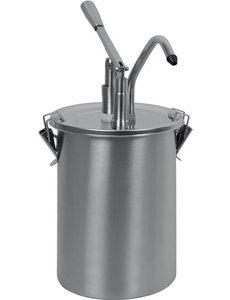 Saro Sausdispenser 4,5 Liter   Dosering 40 ml.   PD-001