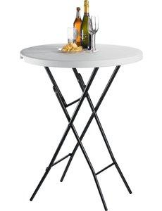 Saro Inklapbare Cocktail Statafel   BARBADOS   Ø 80 x H110 cm.