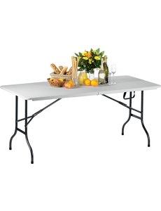 Saro Inklapbare Witte Party Buffettafel | 183x76xH72 cm.