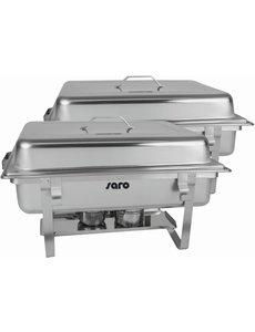 Saro Chafing Dish incl. GN1/1 / GN1/2 en 2x GN1/4  | Per 2 stuks