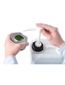 Hendi Brandpasta dispenser is geschikt voor can 5 liter