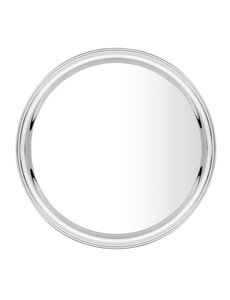 Olympia RVS dienblad | Ø 40,5 cm