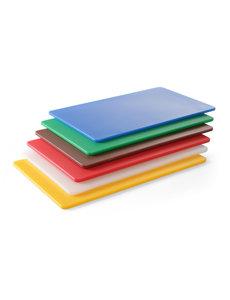 Hendi Snijplank HACCP | GN 1/2 | 265x325x(H)9 mm | Keuze uit 6 kleuren