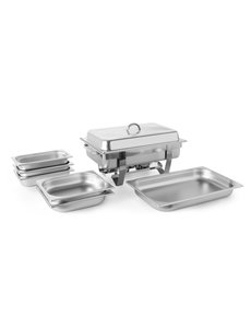 Hendi Chafing Dish | GN 1/1 | Fiora | Set met extra bakken