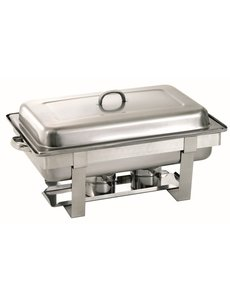 Bartscher Chafing Dish | GN 1/1 | Chroomnikkelstaal | 610x350x(H)320mm