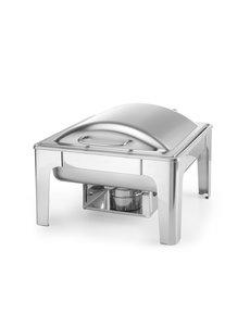 Hendi Chafing Dish | GN 2/3 | Mat RVS | 395x430x(h)290mm