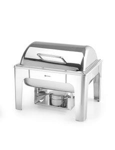 Hendi Chafing Dish | GN 1/2 | Hoogglans | 365x345x(h)345mm