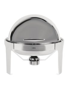 Olympia Chafing Dish Rond met Rolltop | Paris | 6 Liter