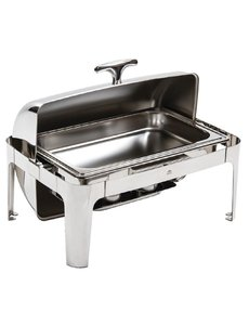 Olympia Chafing Dish met Roltop | GN 1/1 | Hoogglans RVS