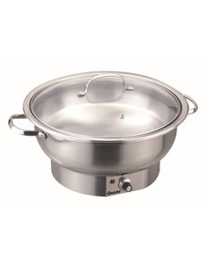 Bartscher Elektrische Chafing Dish | Rond | 3,8 Liter