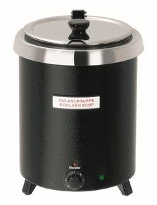 Bartscher Soeppan Club | 8,5 Liter | Zwart | Ø 295mm
