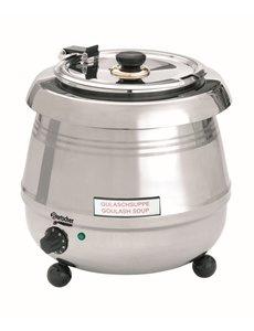 Bartscher Soepketel De Luxe 9 Liter | RVS | 400Watt | 30 °C tot 95 °C |  B 345 x D 345 x H 360 mm