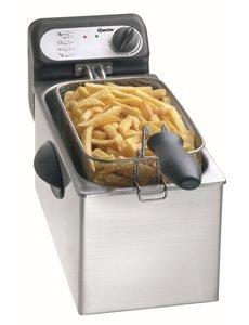 Bartscher Friteuse 3 liter   2000W   130 °C tot 190 °C   210 x 530 x H240mm