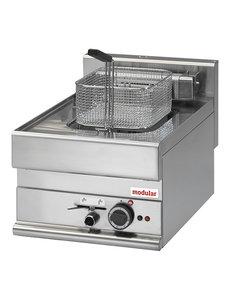Modular Friteuse Modular 650 | 10 Liter | Met aftapkraan | 7,5kW | 400V | 40x65x(H)28cm