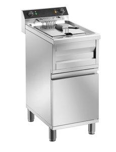 Saro Gastroline Friteuse met Onderstel | 12 Liter | 9kW | 400V | 400x700x(H)950mm