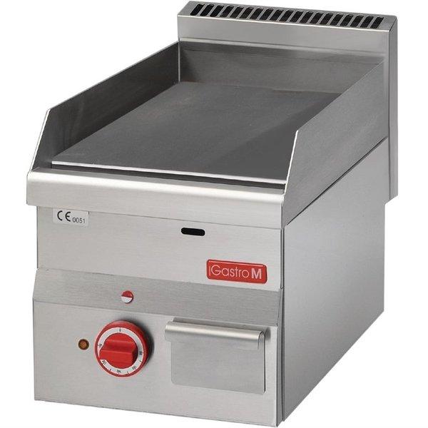Gastro-M Bakplaat Elektrisch | Gastro-M 600 Series | Glad | 400V | 600x300x(H)280mm