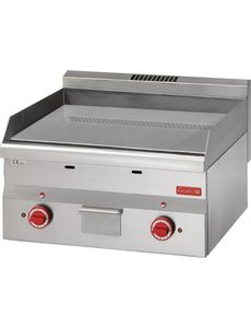 Gastro-M Bakplaat Verchroomd Elektrisch | Gastro-M 600 Series | Glad | 400V | 600x600x(H)280mm