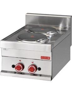 Gastro-M Elektrisch Kooktoestel | Gastro-M 600 Series | 2 Kookplaten | 400V