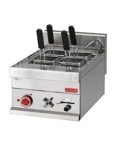 Gastro-M Elektrische Pastakoker met Vulkraan | 20 Liter | 400V/6kW | 65x40x(H)28mm