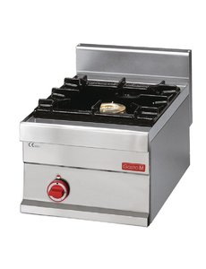 Gastro-M Gaskooktoestel | Gastro-M 650 Series | 1 Brander | 40cm Breed