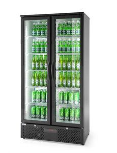 Arktic Display koelkast met 2 glazen deuren 458 Liter | 900x545xH1820mm