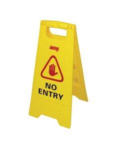 "Jantex Waarschuwingsbord | "" No Entry """