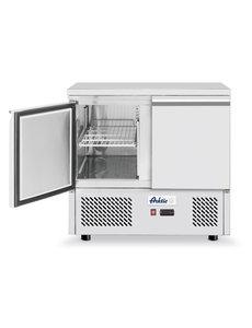 Arktic Koelbank Kitchen Line | 2 Deurs | 300 Liter | 2 Schappen